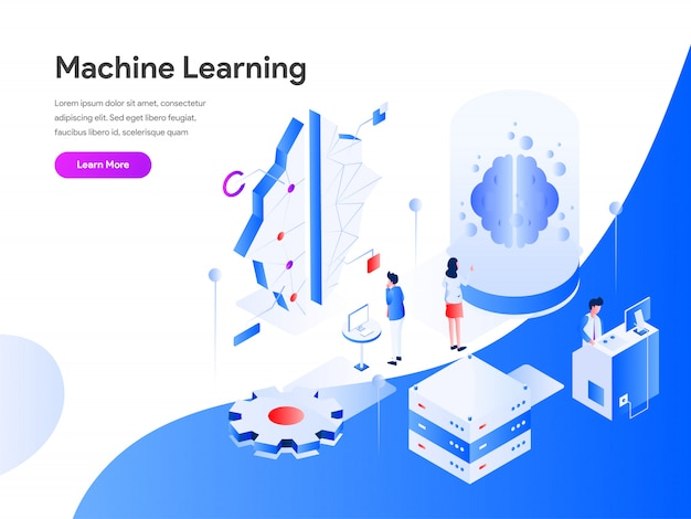 Machine learning isometric
