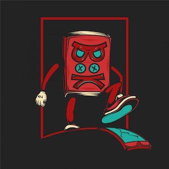 Mad book illustration