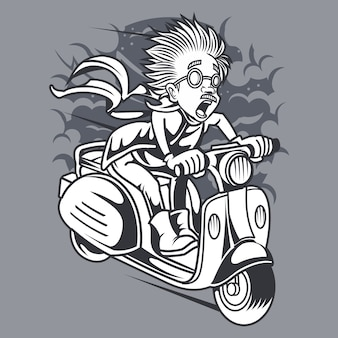 Mad scientist scooter