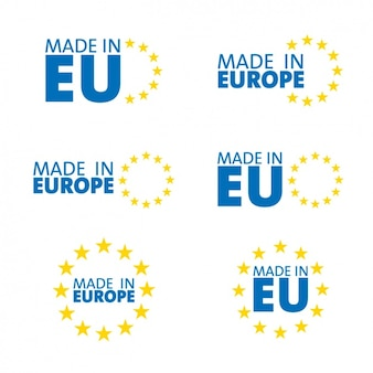 Made in europe, symbols