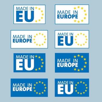 Сделано в европе