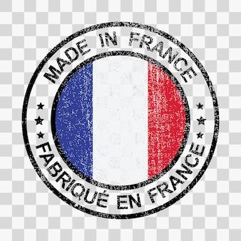 그런 지 스타일에서 프랑스 우표에서 만든