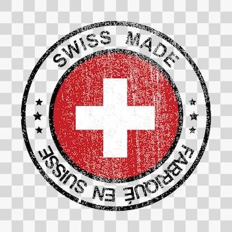 그런 지 스타일에서 스위스 스탬프에서 만든