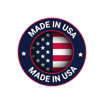 Made in usa 로고 usa 벡터 로고