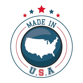 Made in usa map