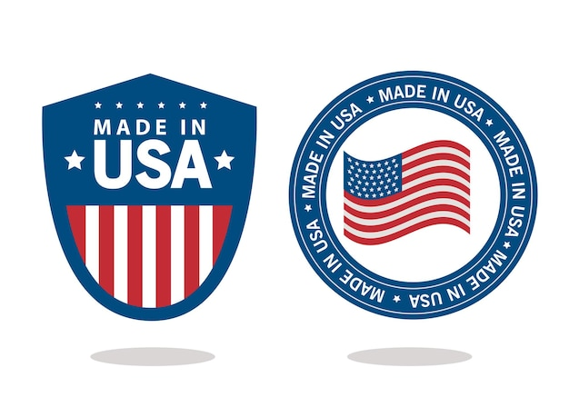 Made in usa seals icons