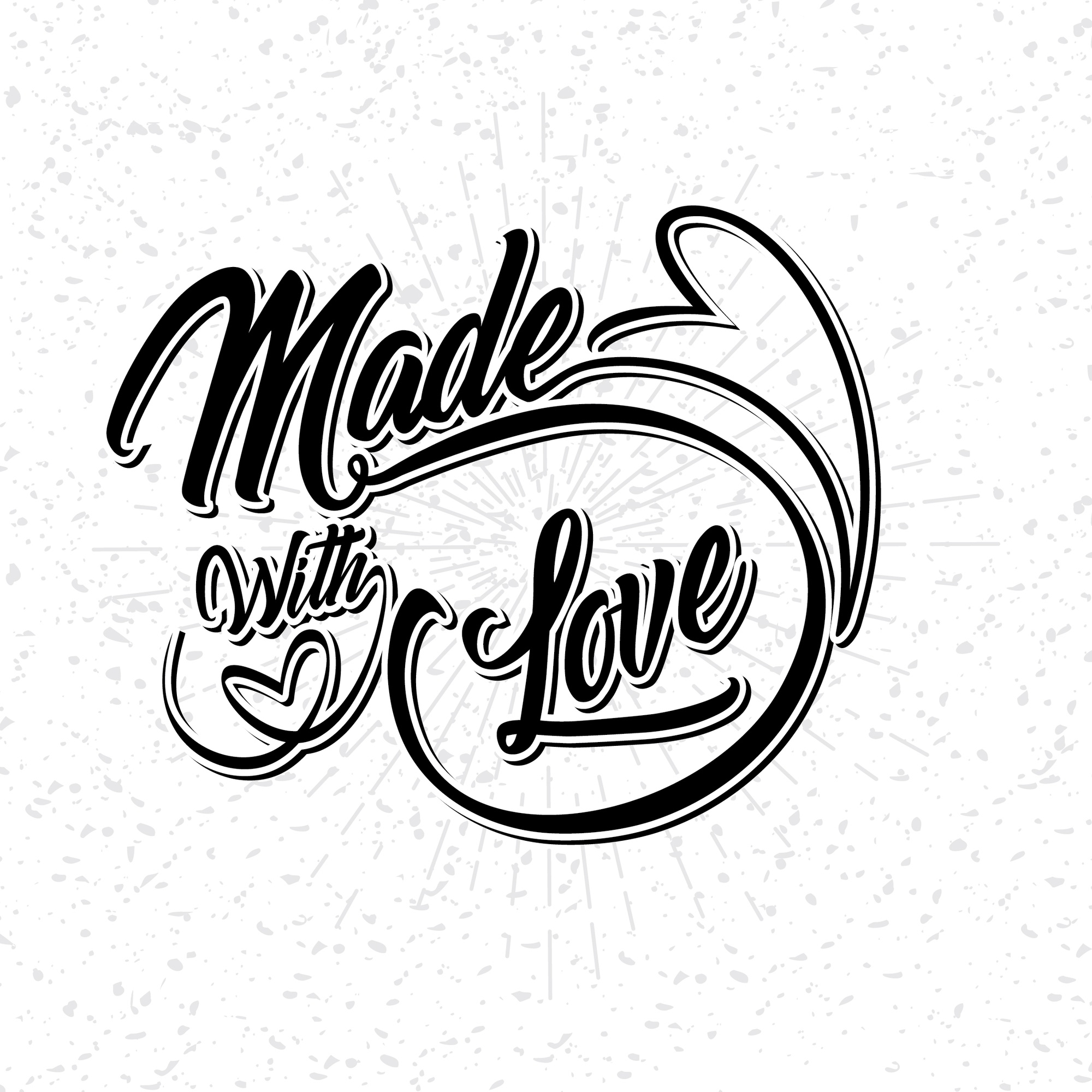 Made With Love Calligraphy