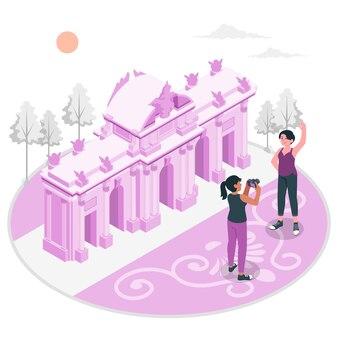 Иллюстрация концепции мадрида