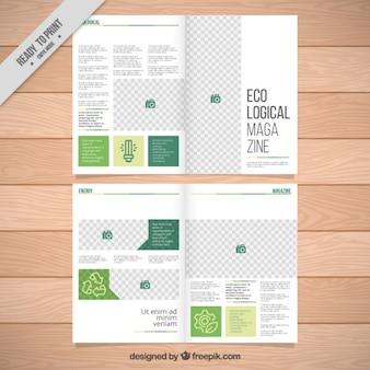 エコロジーmagazinceテンプレート