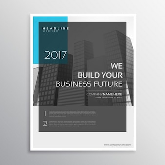 Magazine cover of business