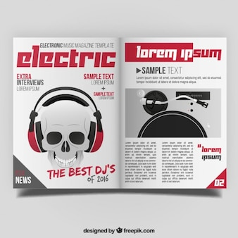 Magazine of electric music