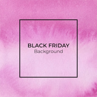 Пурпурный blackfriday акварель фон