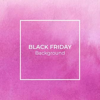 Пурпурный blackfriday акварель текстуры фона