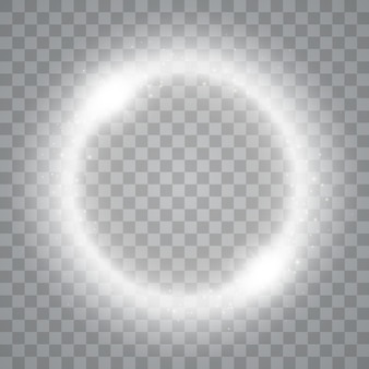 Magic circle isolated on transparent