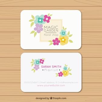 Magic Garden Business Card