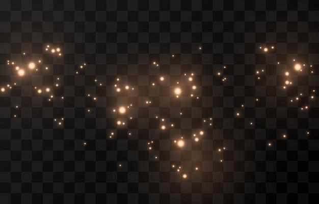 Волшебное свечение сверкающий свет