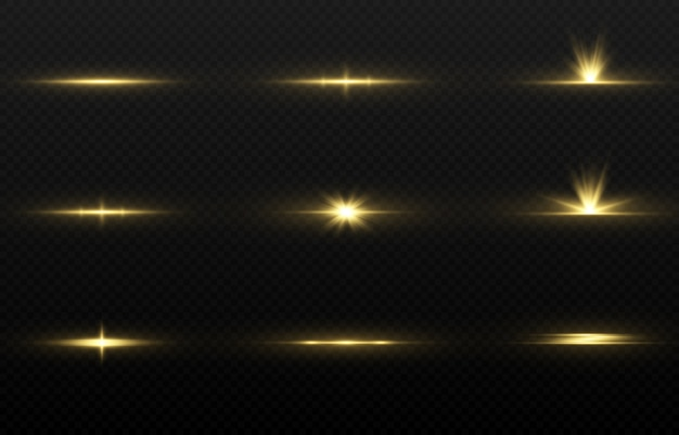 Magic gold glow set.