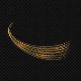 마법의 빛 광선 효과 별 반짝 투명 배경에 고립 버스트. 가벼운 추적