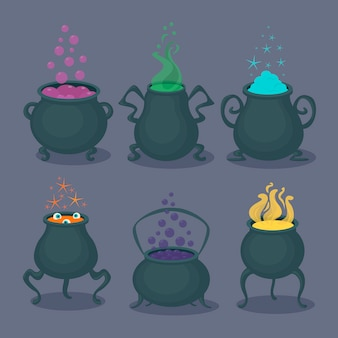 Magic potions set