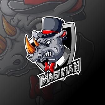 Magic rhino e sportロゴ