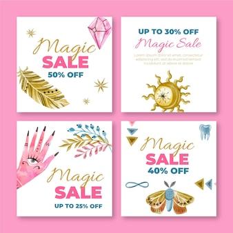 Magic shop instagram 게시물 템플릿