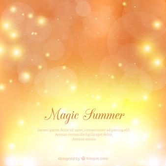 Magic summer background