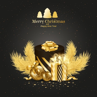 Abstract Xmas Background Vector Illustration Vector Free