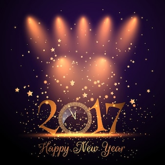 Magical background for new year