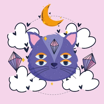 마법의 고양이 쿼츠 문