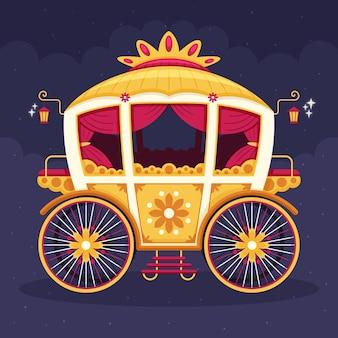 Magical fairytale carriage theme
