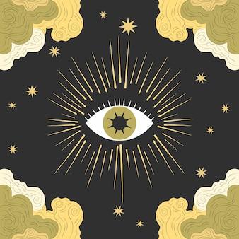 Magical occult design