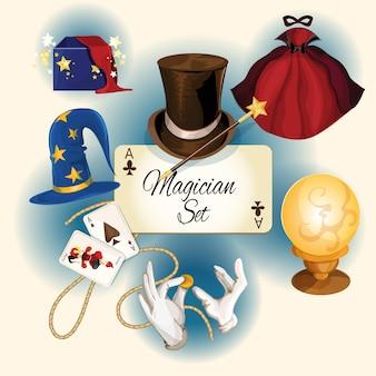 Magician elements set