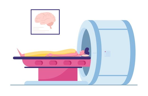 Magnetic resonance imaging digital technology in medicine diagnostic concept