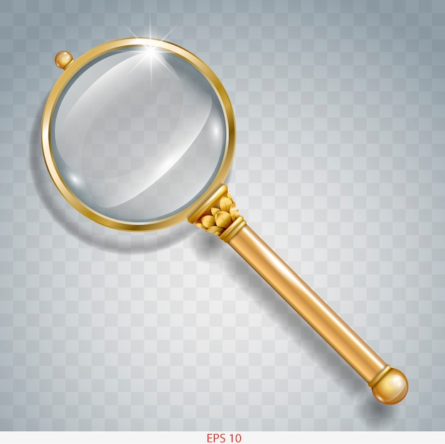 Magnifier gold search
