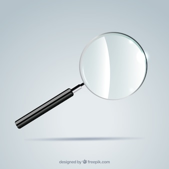 現実的なスタイルの拡大鏡の背景