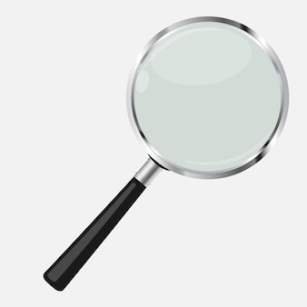 Magnifying glass search icon vector illustration. eps10