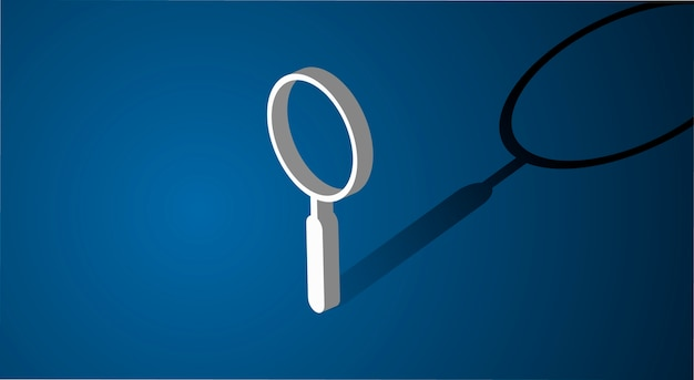 Magnifying glass searching icon
