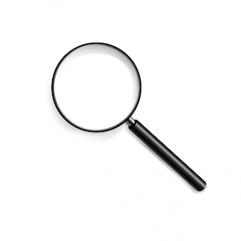 Magnifying glass in