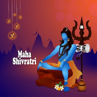 Maha shivratri celebration greeting