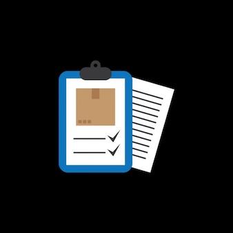 Mail delivery checklist design