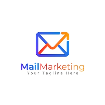 Mail envelope logo