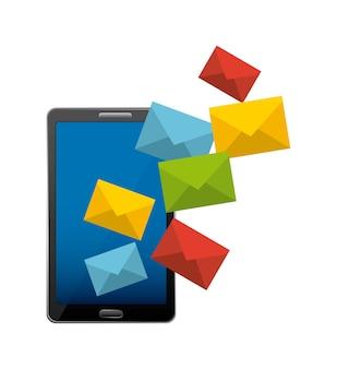 Mail marketing design