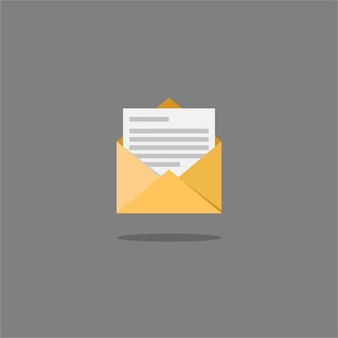 Mail and message color icon