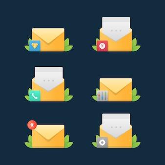 メールサービスのアイコン