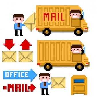 Mail service неровной пакет