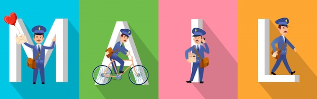 Postman Vectors, Photos and PSD files | Free Download