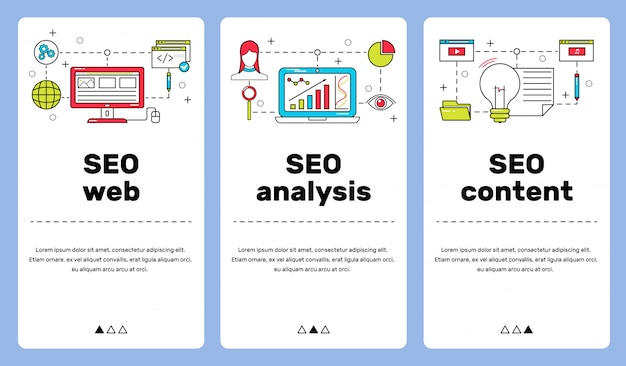 The main directions of the seo system