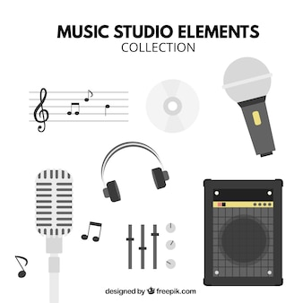 Main elements of a music studio