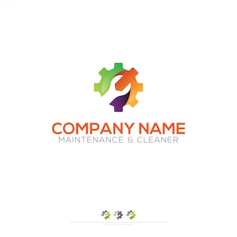 Maintenance logo design