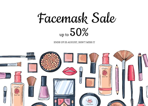 Make up discount banner